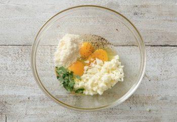 Preparation Rice omelette