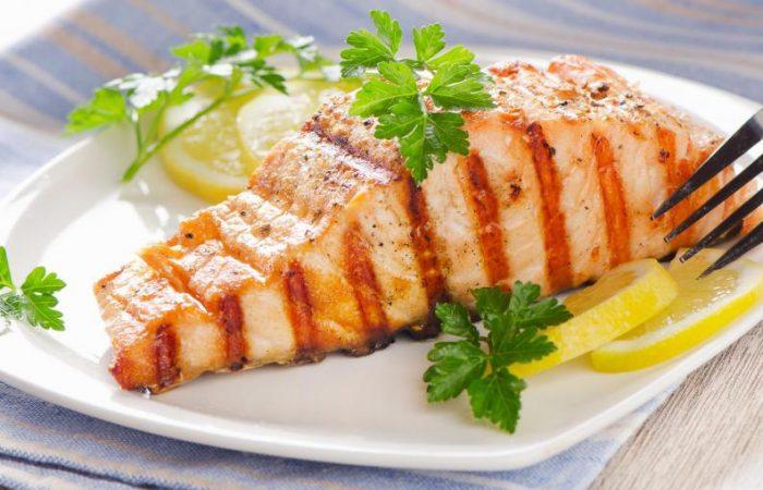 Salmon with citrus sauce 3