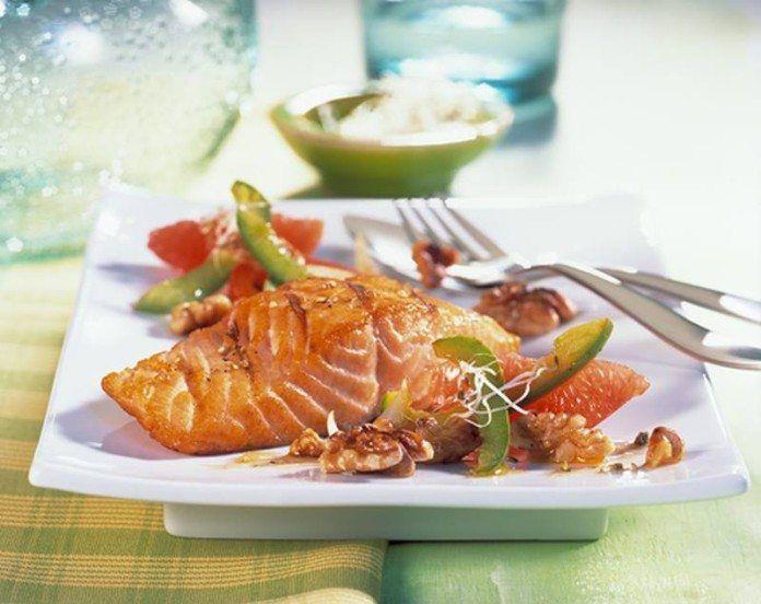 Salmon with citrus sauce 2